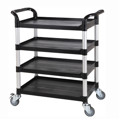 Trolley, Fixed Height, 4 Shelves